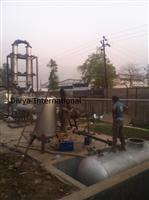 Installation of pyrolysis plant in Abu Road