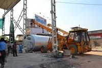 Installation of pyrolysis plant in Bicchiwara