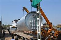 Installation of pyrolysis plant in Karnal