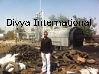 Pyrolysis-Plant installed in Gujarat, Oct 2011