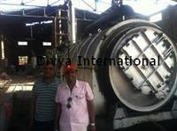 Pyrolysis plant installed in Maharashtra Jalgoan